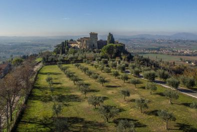 CASTELLO IN VENDITA IN UMBRIA , ASSISI