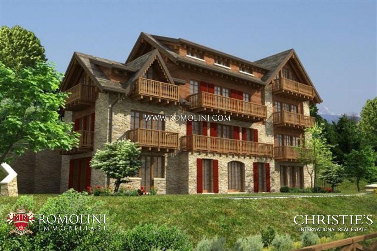 Appartamento di lusso in chalet di montagna in vendita for Planimetrie rustiche