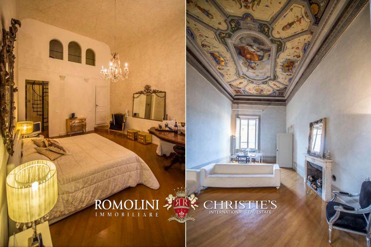 Tuscany renaissance palazzo with boutique hotel for sale for Boutique hotel for sale