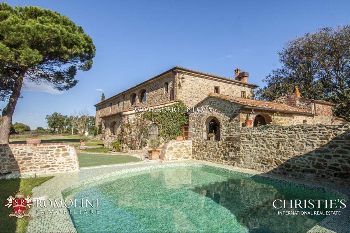Casa colonica in vendita arezzo toscana casale con 5 ettari terreno in vendita arezzo - Casale in toscana ...