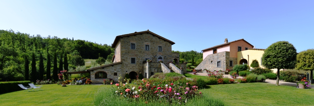 BED AND BREAKFAST DI LUSSO IN VENDITA IN TOSCANA CON OLIVETO E VIGNETO